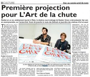 2012.10.26 Le Républicain Lorrain 2