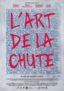 L'Art de la Chute - fiction satirique réalisé par Bastien Simon - affiche du film